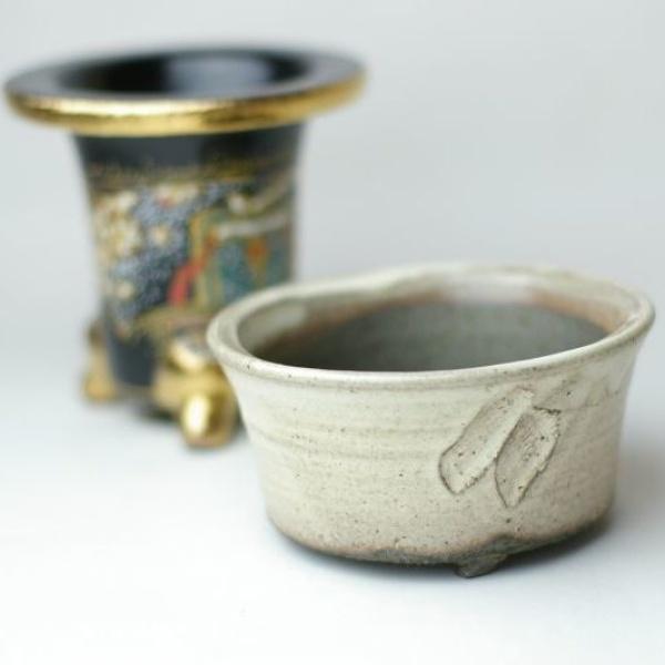 画像1: 植木鉢・山野草鉢・盆栽鉢