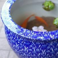 傘立・テーブルセット・水鉢